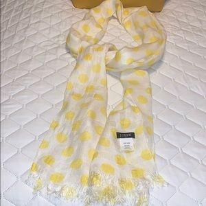 Jcrew polka dots scarf